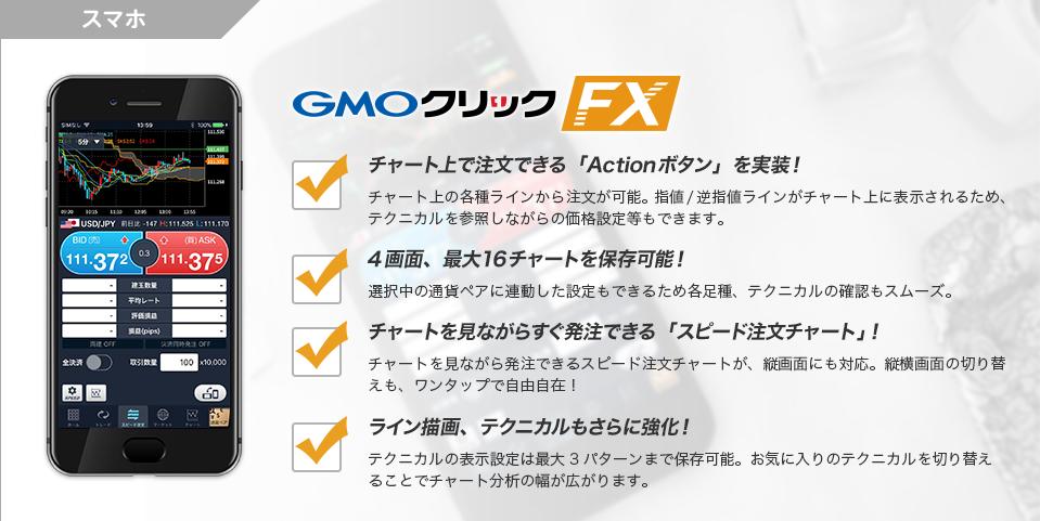 GMOクリック証券スマホFXアプリ