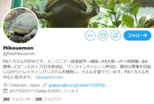 HikouemonさんTwitterアカウント