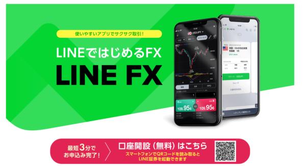 LINEFX口座開設QRコード