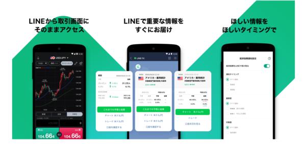 LINEFXの通知画像
